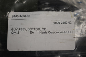 Harris Corporation Bottom GUY OD Assembly (Set of 2)
