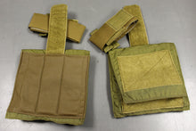 Load image into Gallery viewer, MSAP Deltoid Protector Assembly, 8465-01-574-0628, Set of 2, Khaki, NEW!