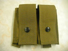 Load image into Gallery viewer, MOLLE II 40 MM High Explosive Pouch Double Coyote Tan