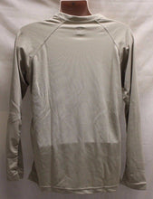 Load image into Gallery viewer, Mens UNITED Long Sleeve Athletic Base Layer Shirt, Size: L/R, Color: Sand, NEW!