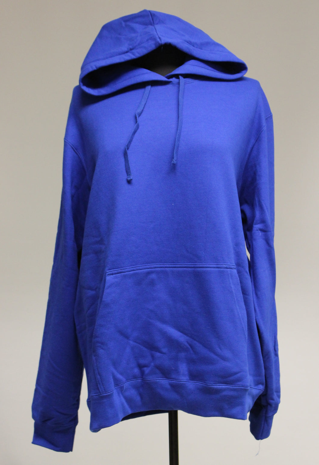 Port & Company Blue Hoodie, Size: Large