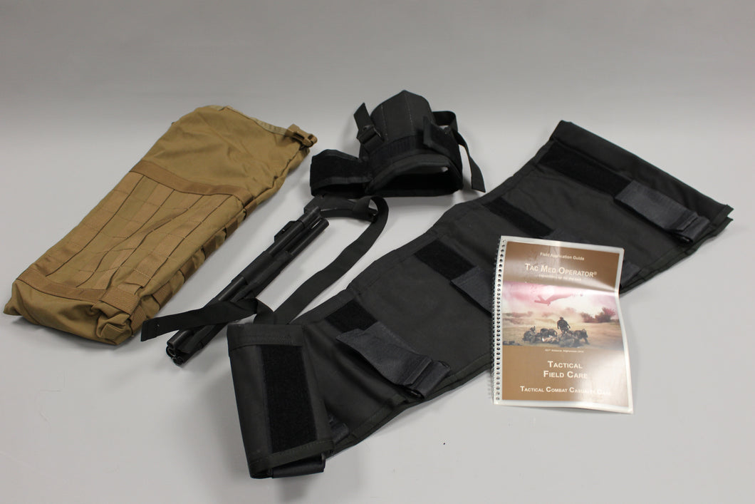 Tac Med Operator Immobilization Multifunctional Leg Splint Kit - Coyote - Used