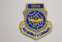 Load image into Gallery viewer, USAF Air Force Air Mobility Command 1500 Hours Patch, Scott Air Force Base, Illinois, Hook & Loop,