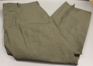 US Marine Corps Men's Dress Green Pants / Trousers, Hemmed, Size: 32R, Used