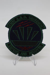 USAF Air Force 831st A.B.O. Squadron Patch, Air Base Operability, Sew On