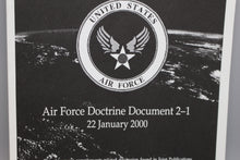 Load image into Gallery viewer, Air Warfare: Air Force Doctrine Document 2-1, 22 January 2000
