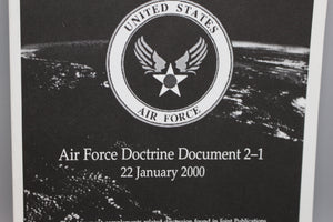 Air Warfare: Air Force Doctrine Document 2-1, 22 January 2000