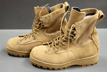 Load image into Gallery viewer, McRae Flight & Combat Crew Boots, Size: 6.5W, Tan, NSN: 8430-01-593-5898, NWOT