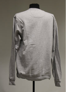 Port & Company Grey Sweatshirt, Size: Large
