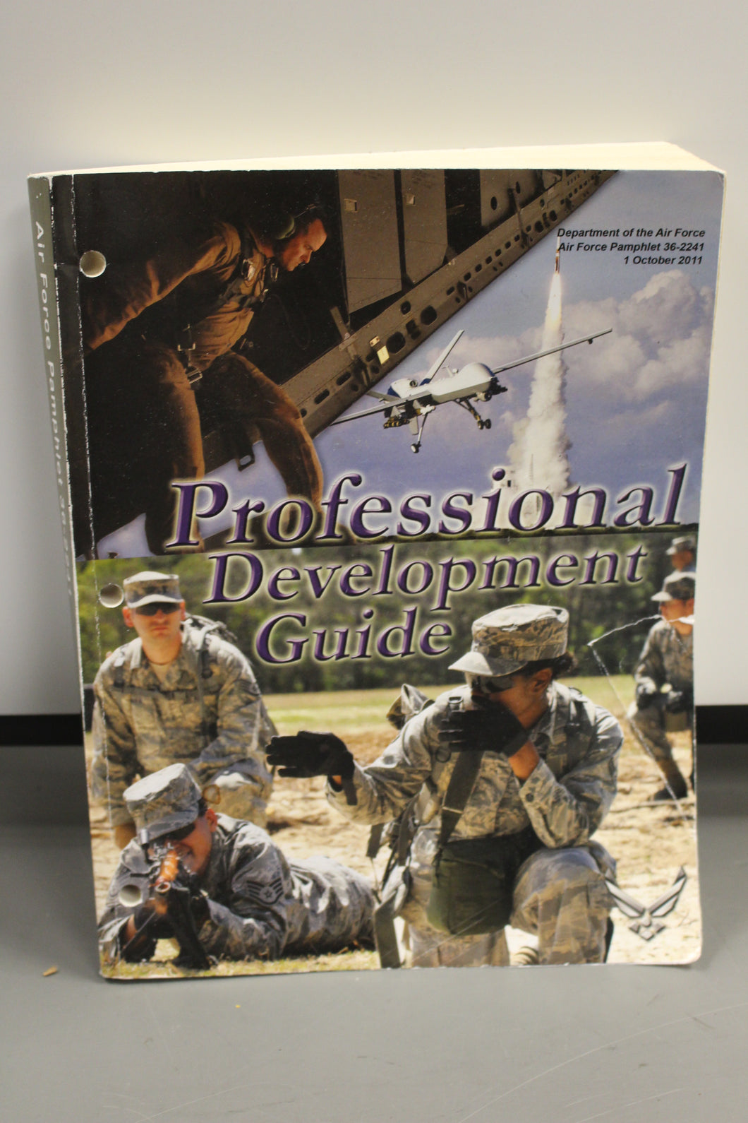 US Air Force Professional Development Guide Book, Pamphlet 36-2241, 1 Oct 2011