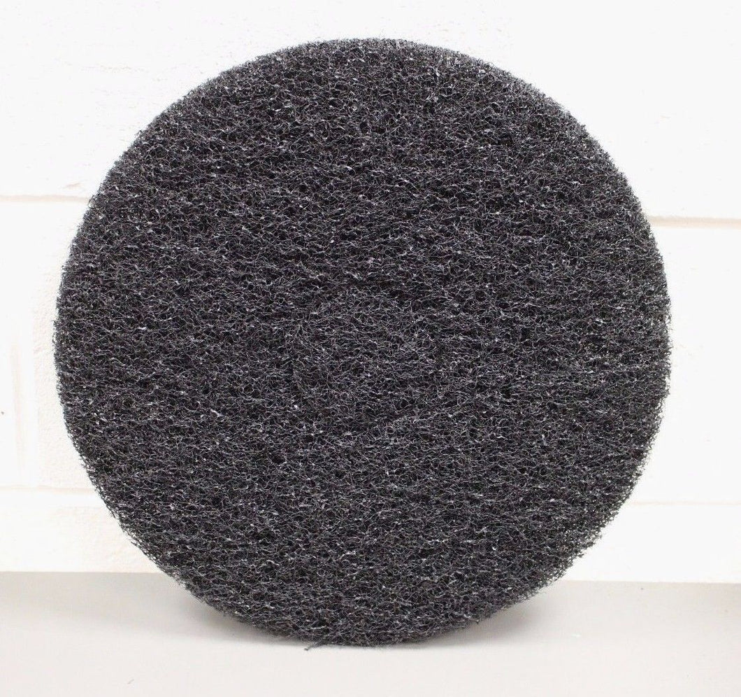 Skilcraft Thick Black Stripping Pad,15 inch, 5 per box, 4015, 7910-00-820-9917