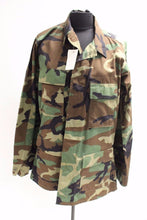 Load image into Gallery viewer, Woodland Combat Coat, Ripstop, Medium Long, 8415-01-390-8549, New