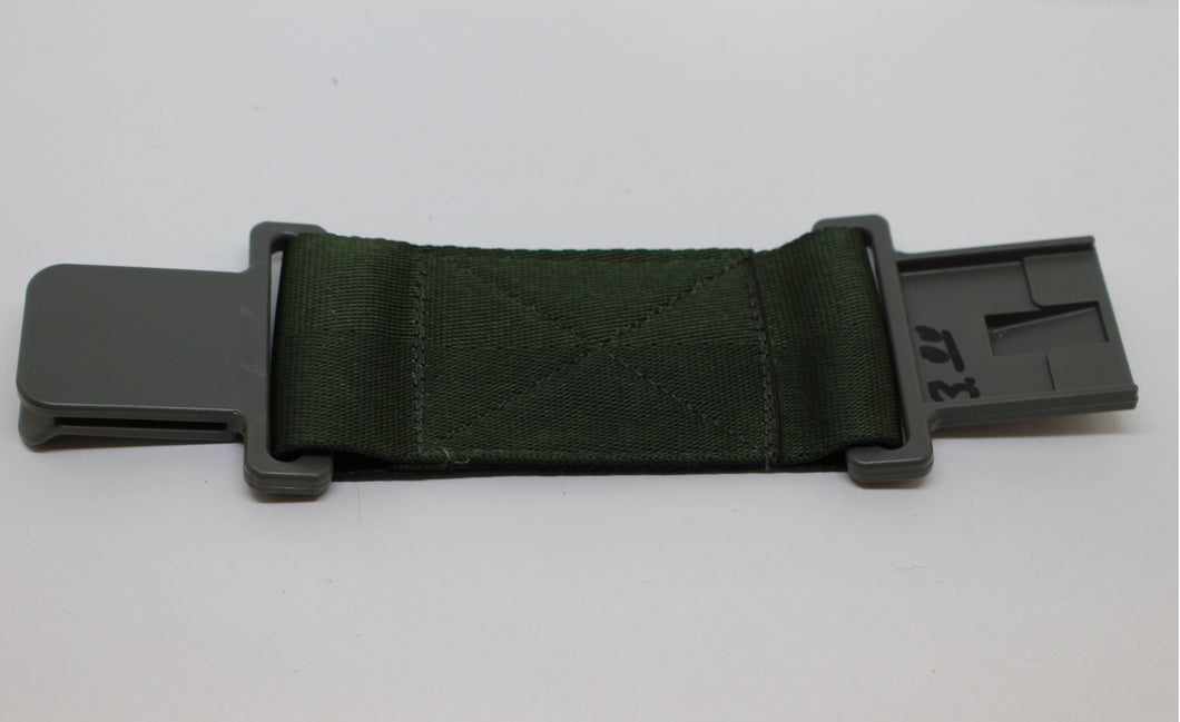 US Military Individual Equipment Belt Extension, OD Green