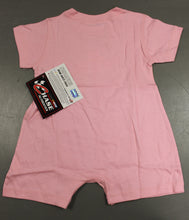 "Load image into Gallery viewer, Juan Pablo Montoya #42 Nascar ""I Love Racing"" Baby Onsie, Size: 18 Months, Pink, New!"