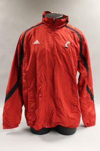 Adidas Zip Up Jacket, Size Large, Climaproof