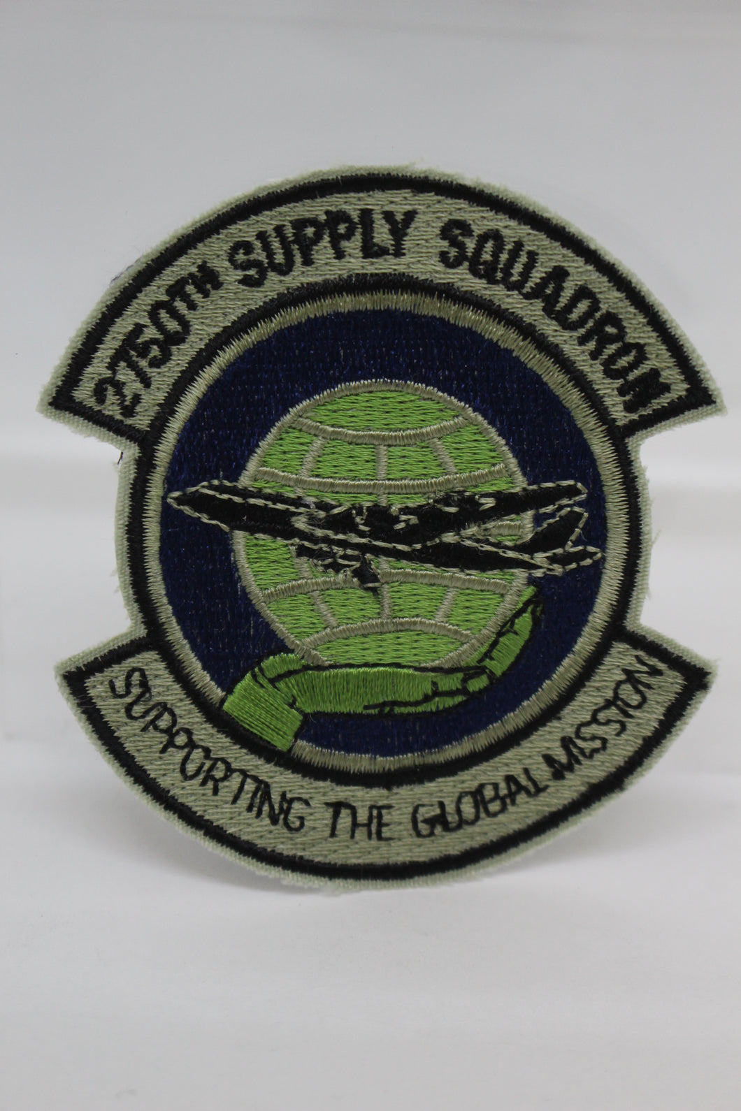 2750th Supply Squadron Patch Supporting the Global Mission, Sew On