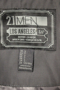21Men: Los Angeles Lined Coat, Small, Black, RN 94981