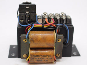Mag Engineering Co Relay, P/N MP-1681, Code 058, 230V - 115V, 50/60 CPS