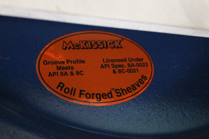 McKissick Roll-Forged Sheave