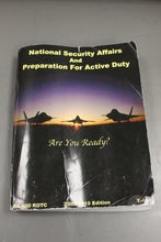 Load image into Gallery viewer, USAF National Security Affairs & Preparation for Active Duty Booklet