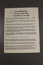Load image into Gallery viewer, US Army Armor Center Daily Bulletin Official Notices, No 220, November 8, 1968