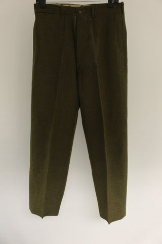 Men's M-1952 Olive Drab Wool Trousers, Size: W31xL30 #1