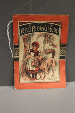 Load image into Gallery viewer, Little Red Riding Hood, McLoughlin Brothers New York, Hop-O-My-Thumb Series