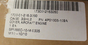 C-5 Galaxy Aircraft Engine Cover, P/N 4P01005-109A, NSN 1730-01-216-3260, NEW!