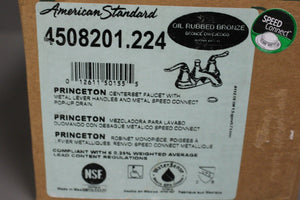 American Standard 4508.201.224 Princeton Two Handle Centerset Lavatory Faucet