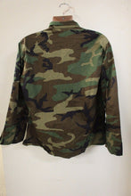 Load image into Gallery viewer, Woodland Combat BDU Coat, Size: Medium - X-Short, NSN:8415-01-084-1645, New