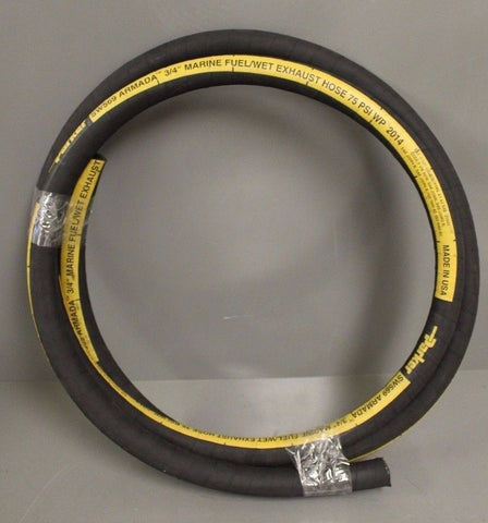 Parker SW569-750 Marine Fuel/Wet Exhaust Hose, 11' roll
