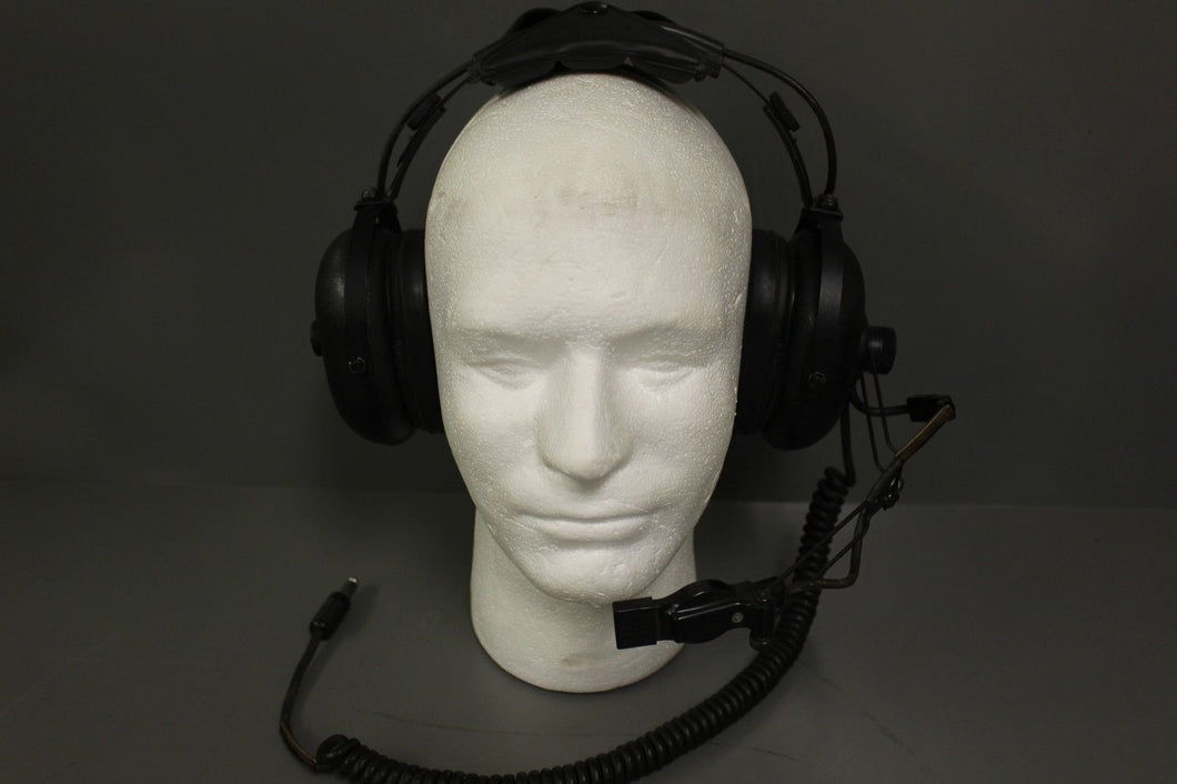 Aviation Headset, Black, NSN: 5965-01-121-2319