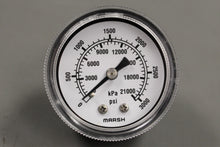 Load image into Gallery viewer, Marsh Dial Indicating Pressure Gage, 6685-00-463-3399, J2078, New