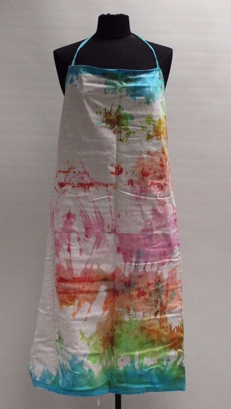 Tie Dyed Bakers Food Handler's Apron, New (#5)