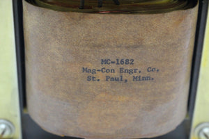 Mag-Eng Co. Transformer, MC-1682