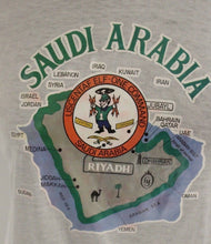 Load image into Gallery viewer, Saudi Arabia T-Shirt, USCENTAF Elf-One Command, Medium, Large, XL