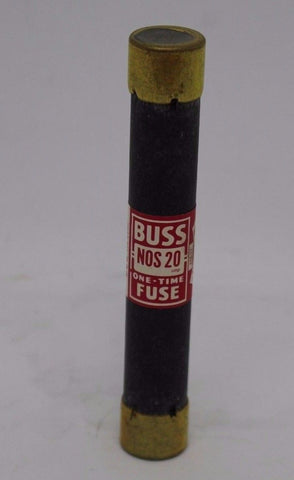 Cooper/Bussman NOS-20 Dual Element Time Delay Fuse