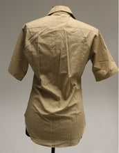 Load image into Gallery viewer, US Military DSCP Men's Tan Short Sleeve Shirt, Size: 16, 8405-01-196-1769, Khaki