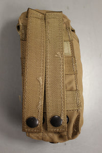 Molle II 30 Round Double Mag Magazine Pouch, Coyote Brown, 8465-01-532-2304, New