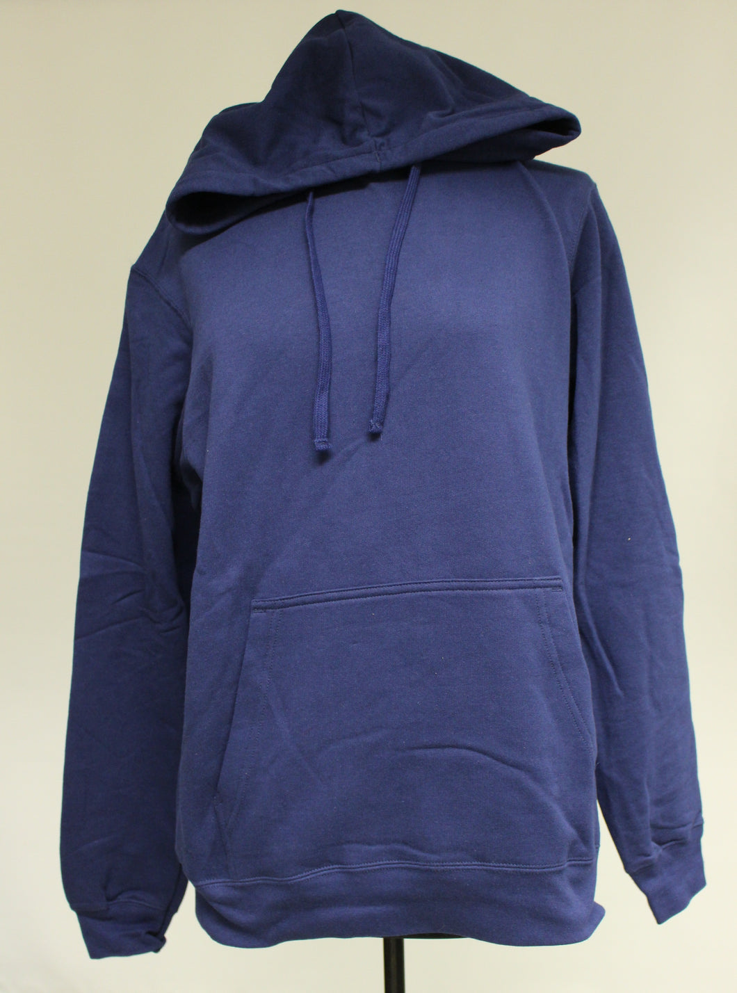 Port & Company Navy Blue Hoodie, Size: Medium