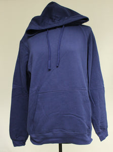 Port & Company Navy Blue Hoodie, Size: Large