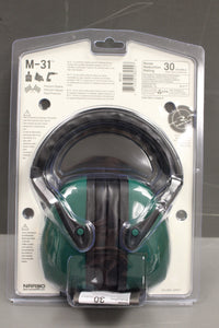 Radians M31 Passive Ear Muff, Green, New