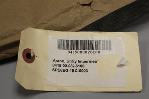 Utility Impermeable Apron, 8415-00-082-6108, New