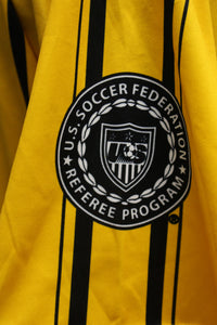 Official US Soccer Federation Sports Referee Polo Shirt, Small, Yellow