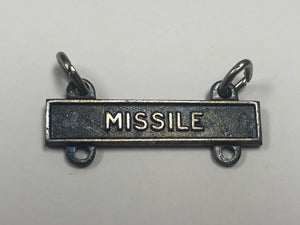US Army Marksmanship Badge Qualification Bar - Missile - New