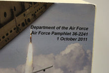Load image into Gallery viewer, US Air Force Professional Development Guide Book, Pamphlet 36-2241, 1 Oct 2011