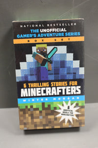6 Thrilling Stories for Minecrafters by Winter Morgan, NEW!