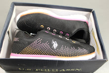 Load image into Gallery viewer, U.S. Polo Assn. Lesley Kids Shoes, Black/Multi, Size: 3M, New