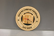 Load image into Gallery viewer, 2016 NACARE of Veterans Wooden Clock, GAN NEFF