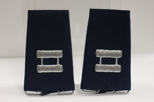 US Air Force Shoulder Epaulets, Captain, Small